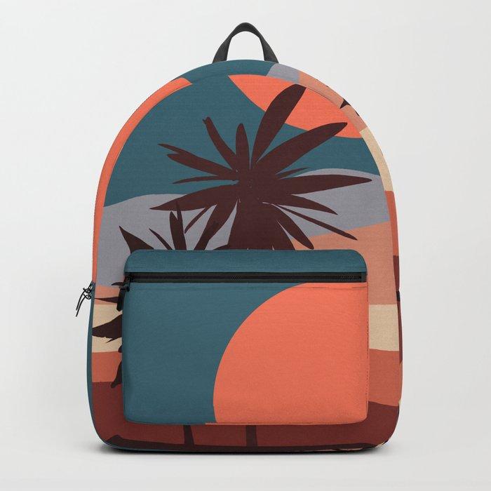 Abstract Landscape 13 Portrait Backpack