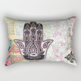 Hamsa Rectangular Pillow