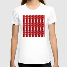 Red line flow T-shirt