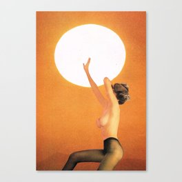 Girl In The Sun... (One Thing...) Canvas Print