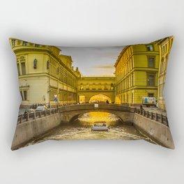 Swan Canal in St. Petersburg Rectangular Pillow