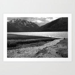 Eklutna Lake II Art Print