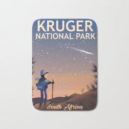 Kruger National Park, south Africa, Bath Mat