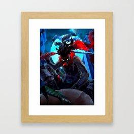 STAIN - MY HERO ACADEMIA Framed Art Print