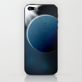 Cold planet iPhone Skin