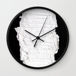 Black, White & White Wall Clock