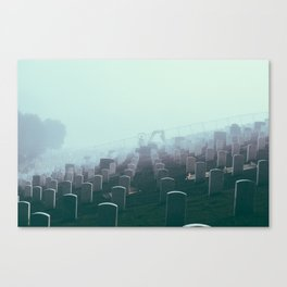 Foggy Presidio Canvas Print