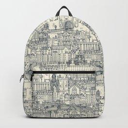 Edinburgh toile indigo pearl Backpack