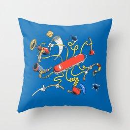 Dr Swiss Throw Pillow