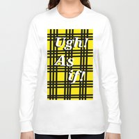clueless Long Sleeve T-shirts featuring Ugh! As if! by Emma Michels