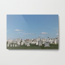 Cemetery Plots II Metal Print