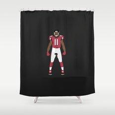 Dirty Bird - Julio Jones Shower Curtain