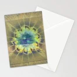 Disfranchises Trance Flowers  ID:16165-032606-04721 Stationery Cards