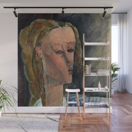 "Amedeo Modigliani ""Beatrice Hastings"", 1916 Wall Mural"