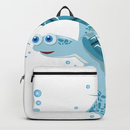 Funny Swimming Turtle Air Bubbles Gift Backpack