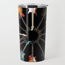 Guitar Circle Travel Mug