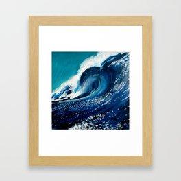 """""""Wave 2"""" Framed Art Print"""
