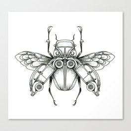 Beetle-Beetle Canvas Print