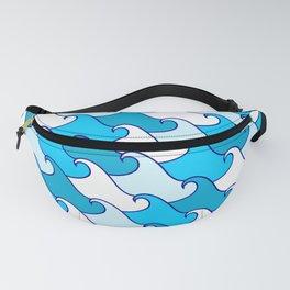 Ocean Waves Fanny Pack