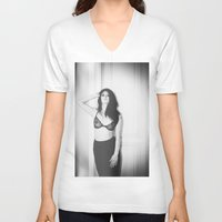 passion V-neck T-shirts featuring Passion by PhotoStories
