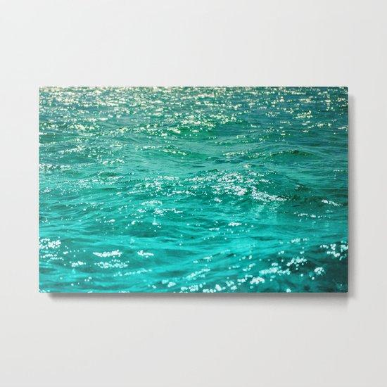 SIMPLY SEA Metal Print