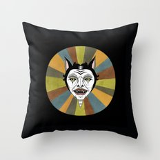 Cat Color Wheel No. 1 Throw Pillow