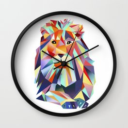 Lion Leonard Wall Clock