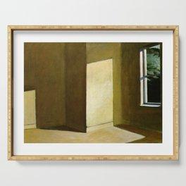 Sun in an Empty Room - Edward Hopper Serving Tray