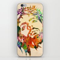 jesus iPhone & iPod Skins featuring JESUS  by mark ashkenazi