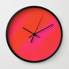 Fancy Curves Wall Clock