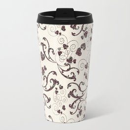 rosy heart Travel Mug