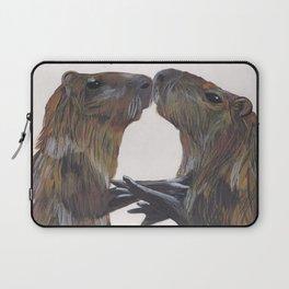 Capy Valentines Laptop Sleeve