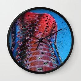 Torre Fira bcn Wall Clock