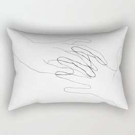 Long distance Rectangular Pillow