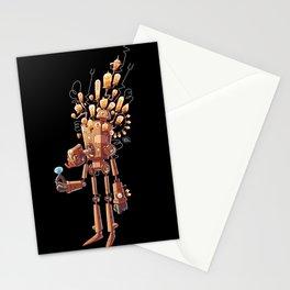 Light Bulb Robot Stationery Cards