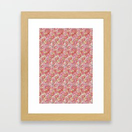 Amazon Floral Framed Art Print
