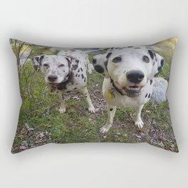 Creek Diggers Rectangular Pillow