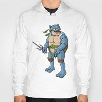 ninja turtle Hoodies featuring Ninja Turtle Blastoise by peterstokesdesign