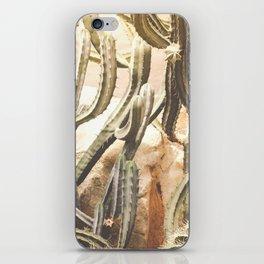 Cactus Jungle iPhone Skin