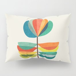 Whimsical Bloom Pillow Sham