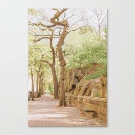 Spring on Central Park West Canvas Print