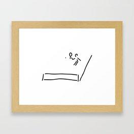 tennis Framed Art Print