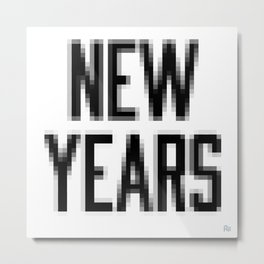 Low New Years Resolutions Metal Print