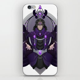 The Raven Lord iPhone Skin