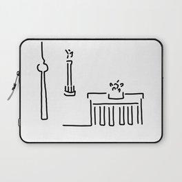 Berlin gate tower Laptop Sleeve