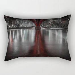 Night Bridge Rectangular Pillow