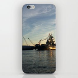 Wilmington, North Carolina - USS North Carolina iPhone Skin