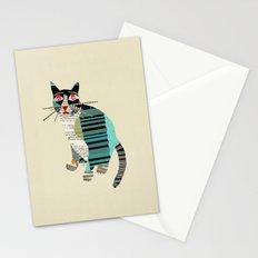 blackberry cat Stationery Cards