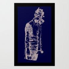 Pass The Mic Art Print