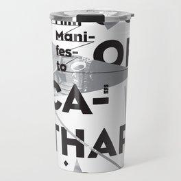 Closure of Catharsis Poster Travel Mug